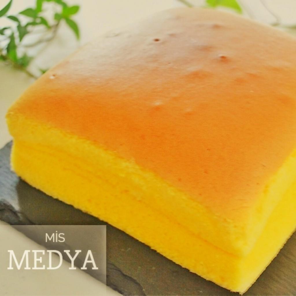 Castella kek harika kabaran, pamuk gibi yumuşacık kek tarifi.