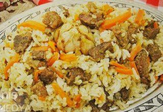 Özbek pilavı yemeklerin vazgeçilmezi…