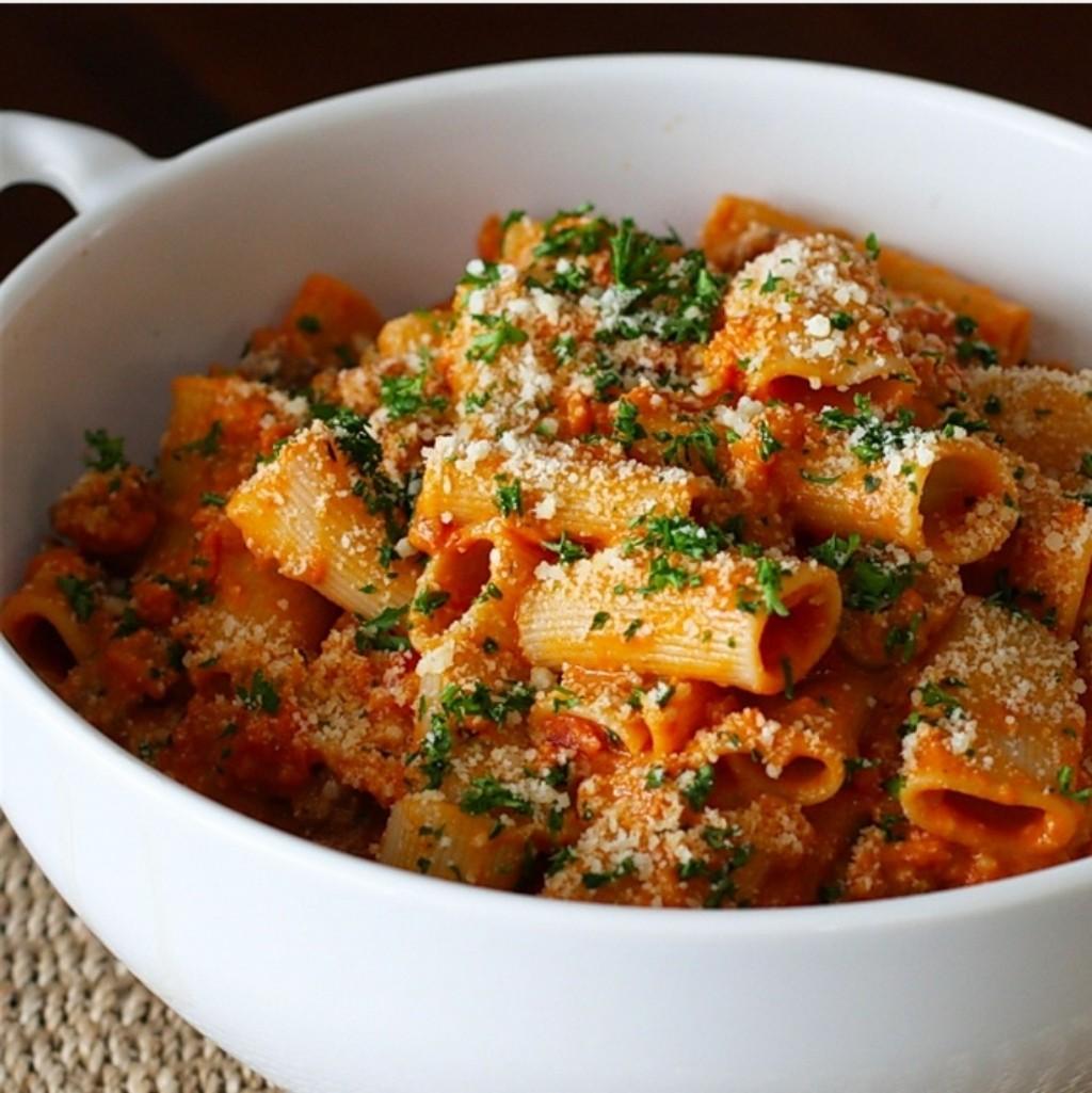 Rigatoni makara yapmak istiyorum bugün bolonez soslu..