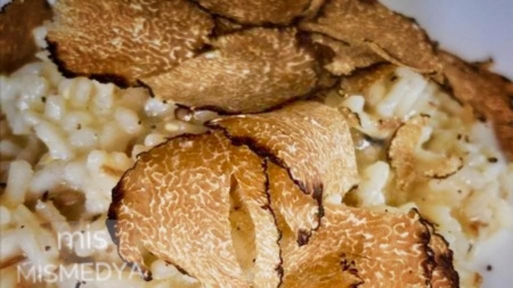 Trüf mantarlı Risotto mutfağınızı şenlendirin?