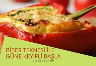 Biber Teknesi ile kahvaltınızı zevklendirin güne keyifli başlayın.