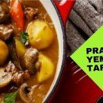 Tencere yemeği Pratik tarifler hazır da tutacağınız  yemek..