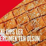 Glutensiz bir çıtır kraker mi desek cips mi bilemedim?