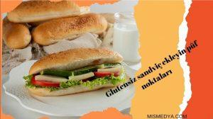 Glutensiz sandwich Düşük Karbonhidratlı Ekmek tarifi için..